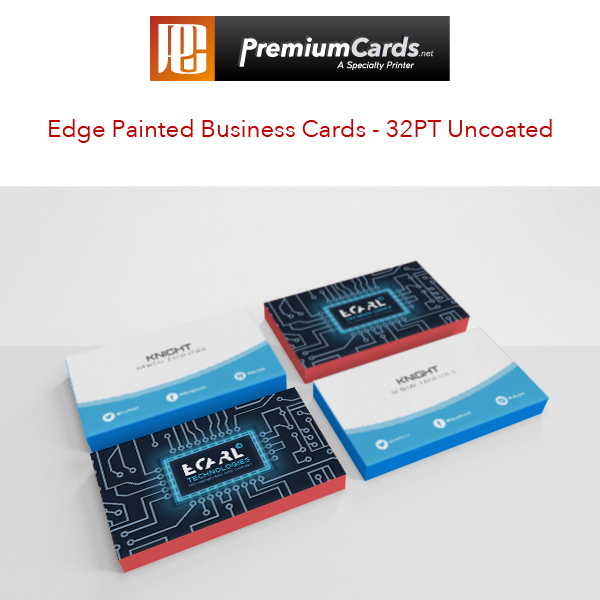 32pt uncoated business cards by premiumcards premiumcards edge painted business cards colourmoves Gallery