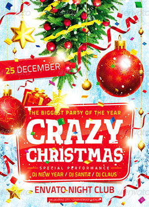 10 Best Christmas And New Year Flyers Of 2012 PremiumCoding