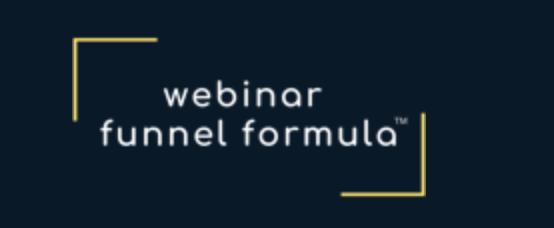 Webinar Funnel Formula