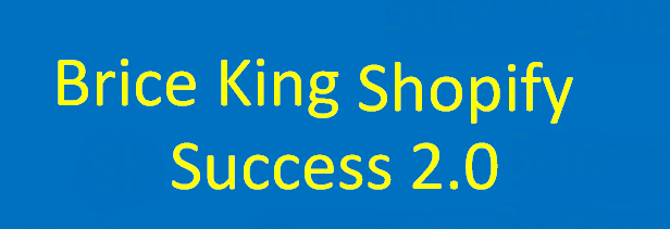 Brice King – Shopify Success 2.0 download