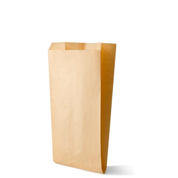 Snackzak vervaardig van een kraft materiaal met een inhoud van 2 pond