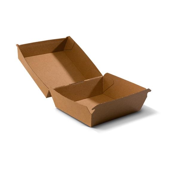Kartonnen Hamburger Bakjes