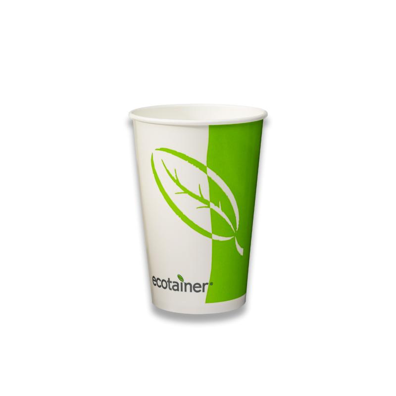 Eco milkshake beker 400cc volledig hernieuwbaar
