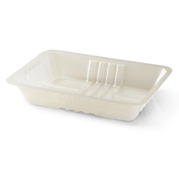 Transparante bakje van plastic voor bijvoorbeeld bami of nasi