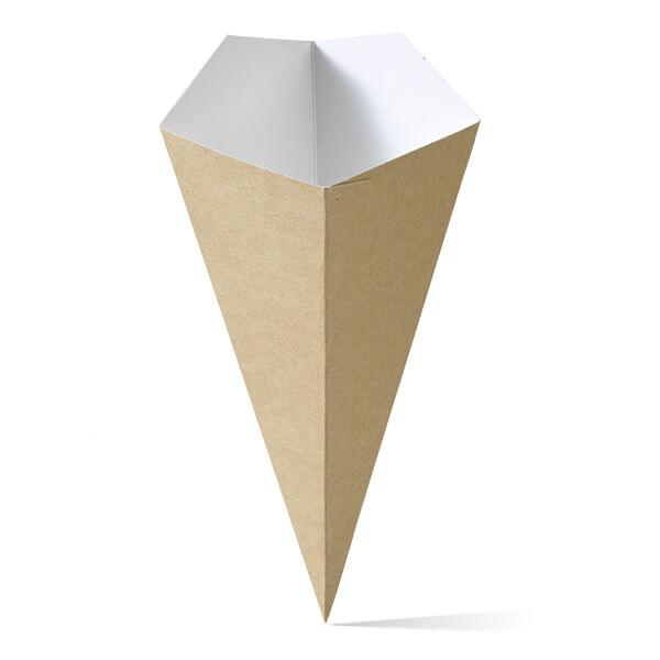 Puntzak van karton in het grootste formaat