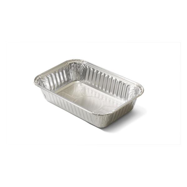 De aluminium bak 750cc heeft een kraalrand, voor dit product zijn dus geen deksels verkrijgbaar. Voor het bezorgen of meenemen van gerechten zoals kapsalon is dit de perfecte verpakking.