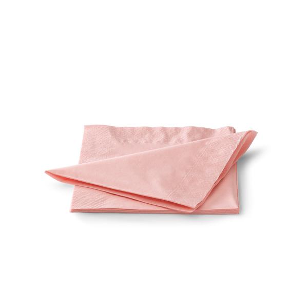 Servetten 33cm 2 laags roze