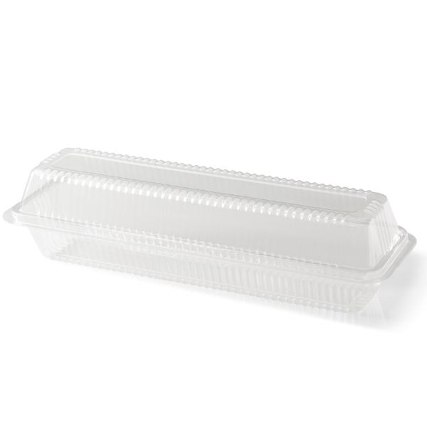 Plastic baquette box