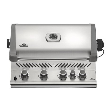 built in gas grill