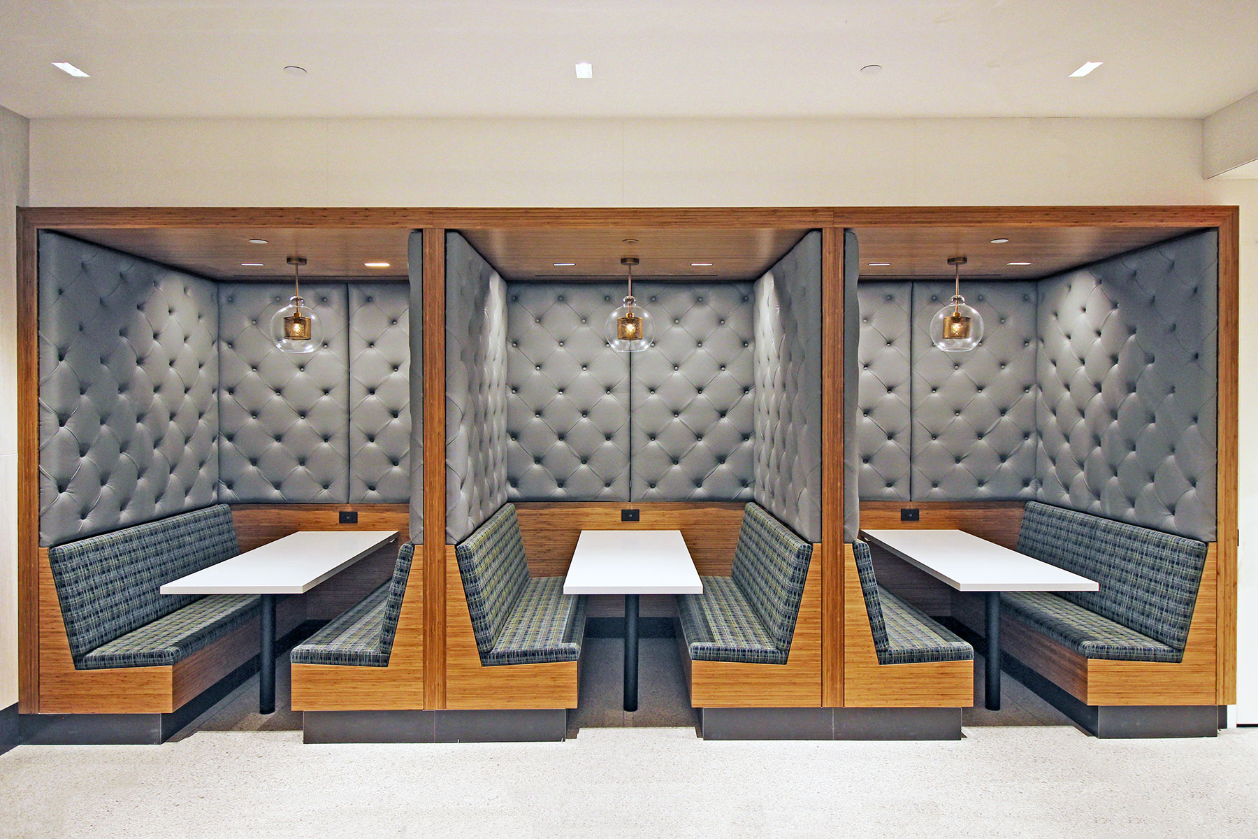 1400 Broadway Leather Booths