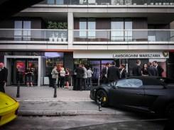 Otwarcie salonu Lamborghini Warszawa