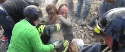 Breaking: Meet 10-year-old girl who was rescued from Italy earthquake rubble after 17hrs