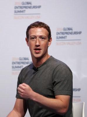 Facebook founder in Nigeria