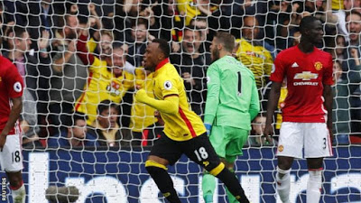 Watford condemn Manchester United to third defeat in a row