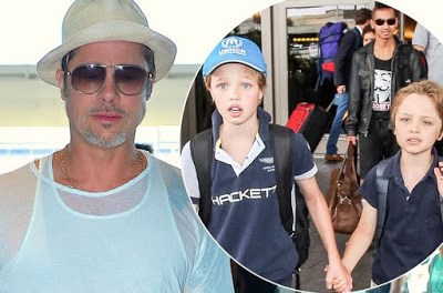 Brad Pitt spent 'some wonderful time' with his children for the first time after split