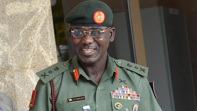 Drunk driver hits General Buratai's car