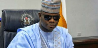 Yahaya Bello sustains leg Injury while alighting from his official car