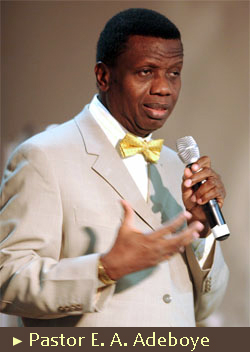 Being quiet doesn't mean I'm silent – Pastor Adeboye