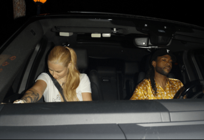 Iggy Azalea caught on date with new man