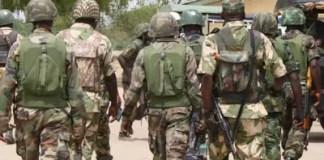 corpse of soldiers killed in Metele