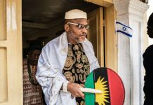 Trial of Nnamdi Kanu stalled due to late service of hearing