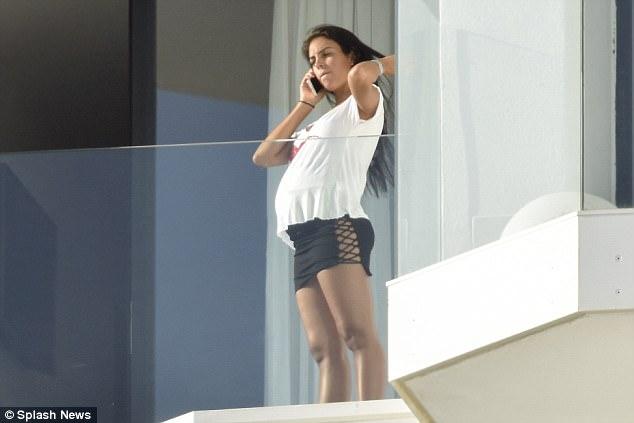 Cristiano Ronaldo's pregnant 23-year-old girlfriend Georgina Rodriguez