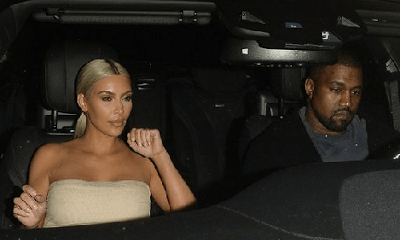 Kim Kardashian and Kanye West Look Unhappy On Date Night
