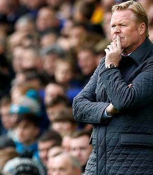 Everton sacks Ronald Koeman as manager