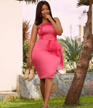 Curvy Ghanaian actress, Joselyn Dumas