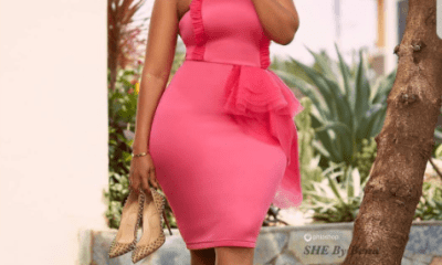 Curvy Ghanaian actress, Joselyn Dumas