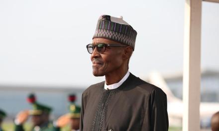 President Buhari arrives Turkey