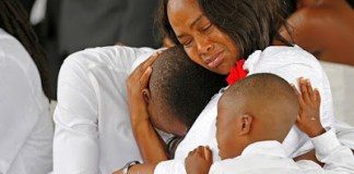 Photos From US Slain Soldier's Burial