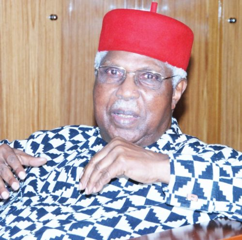 Dr Alex Ekwueme is dead