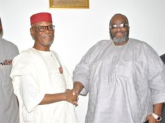 Emeka Ojukwu storms APC headquarter, reveals why he dumped APGA