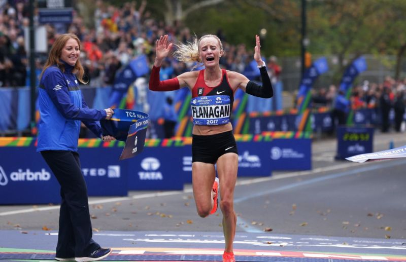 Flanagan upsets Keitany, ends US drought at NYC Marathon