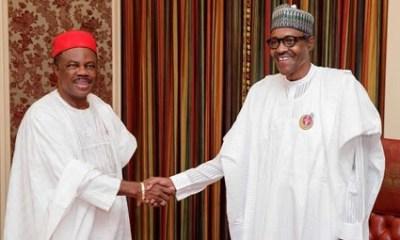 Obiano meets Buhari