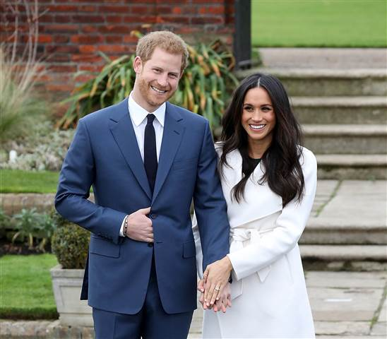 "Prince Harry and Meghan Markle will share their big day on May 19, at St George's Chapel, Windsor Castle, with some lucky people who will be able to see the arrivals of the bride and groom and their guests, as well as the carriage procession as it departs the castle. The group of 2,640 will be made up of 1,200 members of the public from ""every corner of the United Kingdom"" who will be nominated to attend by nine regional Lord Lieutenant offices. Kensington Palace said: ""The couple has asked that the people chosen are from a broad range of backgrounds and ages, including young people who have shown strong leadership, and those who have served their communities."" A further 200 people will be chosen from a range of charities which Harry, 33, and former 'Suits' star Meghan have a close association with, including those which the flame-haired prince is a patron of. 100 pupils from two local schools, The Royal School, Great Park, Windsor and St George's School, Windsor Castle, will be able to witness the extraordinary events unfold on the big day, as will 610 Windsor Castle community members, and 530 members of The Royal Households and Crown Estate. Kensington Palace said in a statement: ""Prince Harry and Ms. Meghan Markle have said they want their Wedding Day to be shaped so as to allow members of the public to feel part of the celebrations too. This wedding, like all weddings, will be a moment of fun and joy that will reflect the characters and values of the Bride and Groom. In addition to the Carriage Procession in Windsor, they have today shared some further details of how the public will be involved on May 19th. ""Prince Harry and Ms. Markle have invited 2,640 people into the grounds of Windsor Castle to watch the arrivals of the Bride and Groom, and their wedding guests, at the chapel and to watch the carriage procession as it departs from the castle"