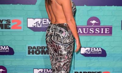 Vicky Pattison looks sensational in backless attire at the MTV EMAs