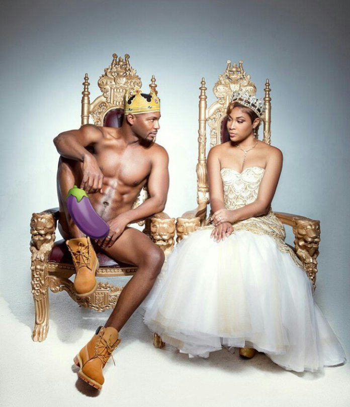 Man poses completely nude for his pre-wedding photoshoot