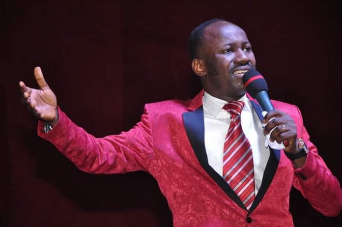 Apostle Johnson Suleman  declares war on bloggers