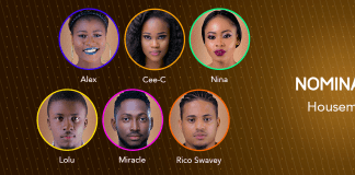 BBNaija 2018 Day 64: Housemates nominated for eviction
