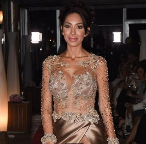 Farrah Abraham flashes her private part as she goes braless at Cannes fashion show