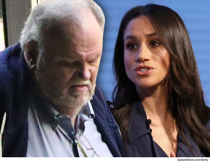 Thomas Markle and daughter