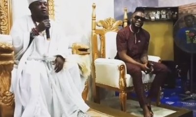 Video: BBNaija Teddy A receives chieftancy title In Ondo State