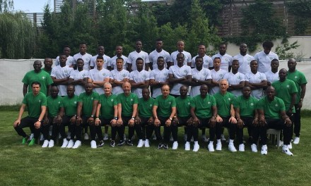 Nigeria releases official team photo ahead of 2018 World Cup in Russia