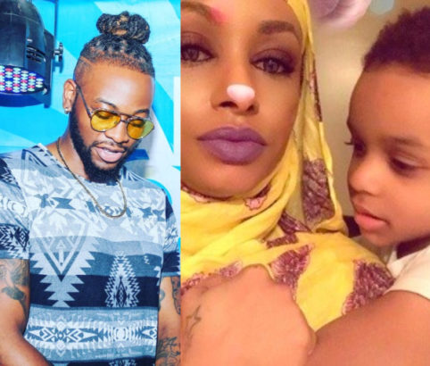 Teddy A fires back at his baby mama's rant