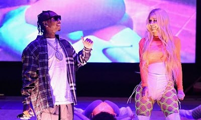 Iggy Azalea & Kylie Jenner's Ex Tyga Cosy Up Together Backstage