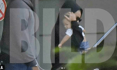 Beyonce spotted leaving a hospital in Berlin with son, Sir Carter