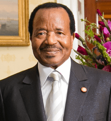 Cameroon's President Biya declares intention to run for 7th term