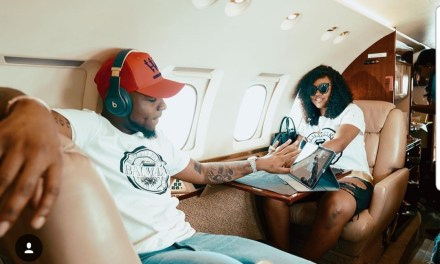Davido wants Apple to increase the security measures of iphones after girlfriend Chioma accessed his phone without his permission (video)